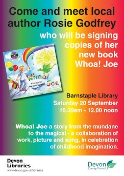 BARNSTAPLE LIBRARY BOOKSIGNING