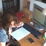Chloe Bix - notating Joe's Song from recording made on her phone of Rosie singing!