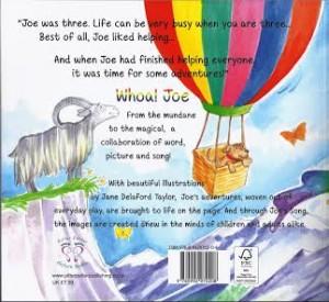 Whoa! Joe Back cover
